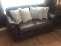 Leather love seat in Clarksville, Tennessee