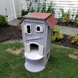 Trixie 3-Story Wooden Outdoor Cat Home, 37-in in Naperville, Illinois