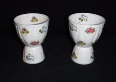 Set of 2 Vintage Double Egg Cups - Shelley Fine Bone China in Naperville, Illinois