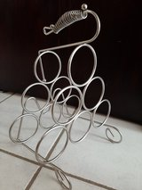 Wine rack with handle in Naperville, Illinois