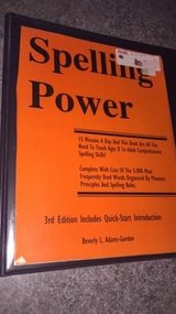 Spelling Power, Grades 3-12 by Beverly L. Adams-Gordon (2001, Paperback, Revised in Chicago, Illinois