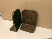 Vintage Masonic Bookends in Cleveland, Texas