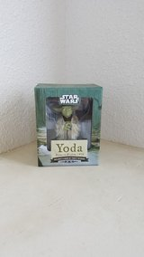 Yoda toy figurine - new, never opened in Okinawa, Japan