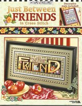 2002Mary Englebreit Just Between Friends In Cross Stitch in Great Lakes, Illinois