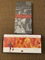 Upper Deck Michael Jordan early years 60 card collection 1984-1993 in Travis AFB, California