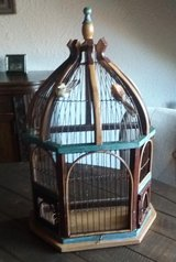 Old Bird Cage in Ramstein, Germany