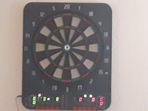 Electric dartboard in Plainfield, Illinois