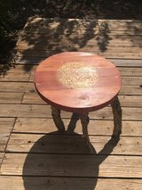Bohemian Rustic End Table in Alamogordo, New Mexico