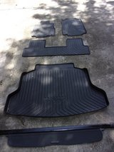 HONDA  CRV All Weather Mats PLUS Cargo Area Cover in Warner Robins, Georgia