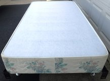 SALE PENDING - Twin Bed Frame & Box Spring in Naperville, Illinois