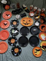 Halloween Ceramic Dishes - 32 Pieces in Beaufort, South Carolina