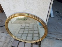 older mirror in Yucca Valley, California