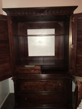 Levitz Dark Wood Armoire in Miramar, California