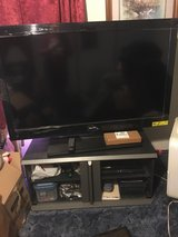 "46"" sony tv with heavy duty tv stand..not a smart tv in Fort Leonard Wood, Missouri"