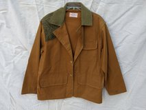 SafTbak Canvas Hunting Jacket, Men's Size XL, with new knit camouflaged gloves in Kingwood, Texas