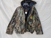 Stearns RealTree Camouflaged Rain Jacket with hood, Men's size XXL in Kingwood, Texas