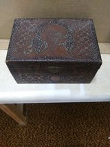 hand carved antique keepsake box in Fort Knox, Kentucky