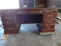 Vintage Ethan Allen Executive Desk in Dover, Tennessee