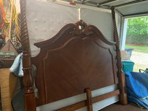 Four Poster King Size Bed with Dresser and Night Stand in Kingwood, Texas