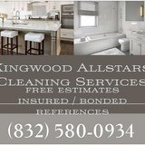 Home and residential cleaning since 2012 in Kingwood, Texas