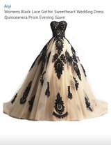 Wedding / quince/ party dress Gothic style dress in Alamogordo, New Mexico