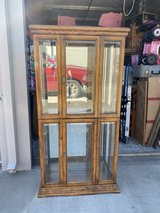 Oak Curio Cabinets in Travis AFB, California