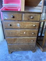 Antique White Oak Dresser in Travis AFB, California