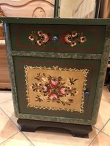Bavarian painted Night stand in Ramstein, Germany