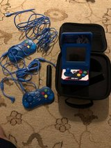 Neo Geo mini arcade cabinet plus carrying case and USB charger in Leesville, Louisiana