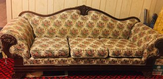 Antique sofa in Fort Campbell, Kentucky