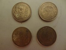 Four Mexican 100 peso coins - no longer in circulation in The Woodlands, Texas