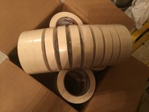 MASKING TAPE 18MM x 55M  Shuretape CP106  case of 48 rolls in Leesville, Louisiana