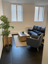 2BR Apt near Mons train station, 10min from SHAPE, pet friendly in Shape, Belgium