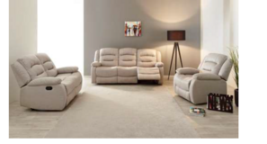 United Furniture - Derval - Sofa-Loveseat-Chair - price includes delivery -also Dark Grey in Baumholder, GE