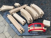 Wooden Train Set in Naperville, Illinois