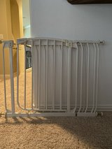Baby gate with 2 extender in Katy, Texas