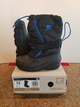Sorel Snow Boots Size 13Y in Hill AFB, UT