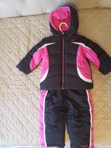snowsuit toddler girl winter 2t 24m in Naperville, Illinois