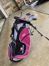 Girls golf club set in Houston, Texas