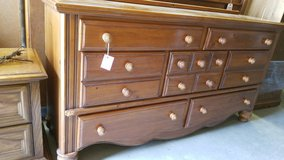 7 Drawer Dresser with Mirror #2067-3 in Camp Lejeune, North Carolina