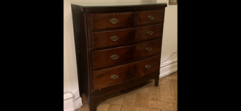 Chippendale antique Chest of drawers ca 1920 in Wiesbaden, GE