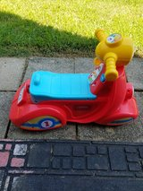 Fisher price toy motorcycle for 2 year old in Fort Campbell, Kentucky