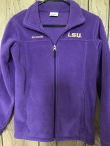 LSU Columbia jacket in Fort Polk, Louisiana