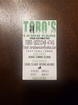 Toro's Lawns Care in Kingwood, Texas