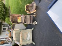Play yard, stroller and car seat in Joliet, Illinois