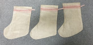 Vintage Christmas Stocking Linen in Ramstein, Germany