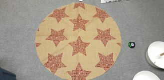 Vintage Look Christmas Tree Skirt in Ramstein, Germany
