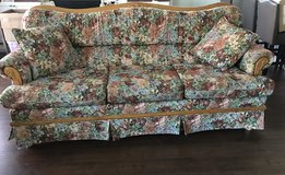 Oak floral couch in Vacaville, California