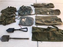 Military Packs, WWII Duffel Bags and Shovels in Travis AFB, California