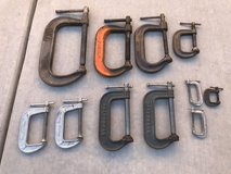 C-Clamps made in USA in Travis AFB, California